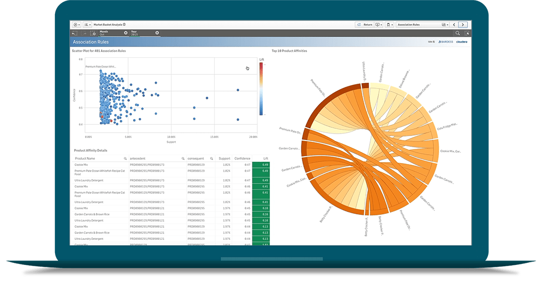 qlik view analytics dashboard