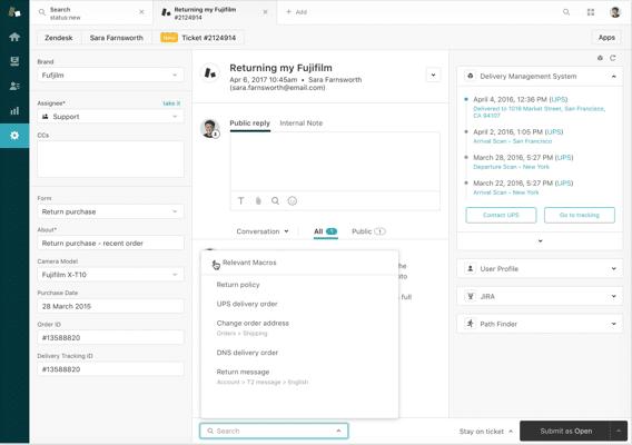 zendesk customer support Flexibility