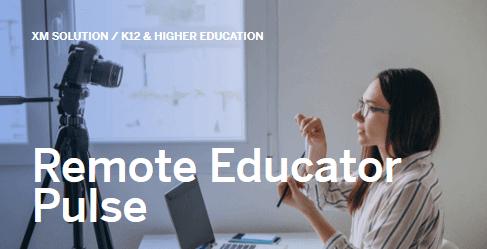 Covid-19 Remote Educator Pulse